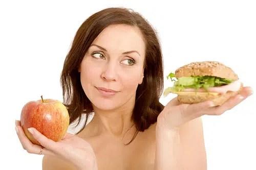 Aprende de nuevo a comer sano.