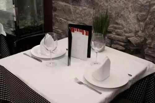 Calidad y buenos precios en un agradable local: el Restaurante Central de Santiago de Compostela