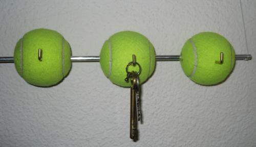 Cómo hacer un colgador de llaves distinto