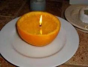 Cómo hacer una vela sin parafina