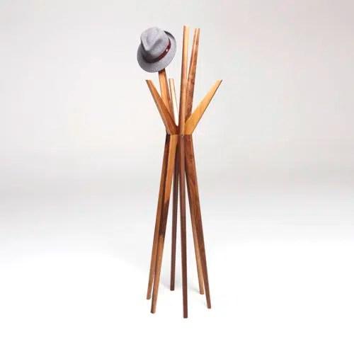 Construye un perchero original y práctico de una forma sencillísima