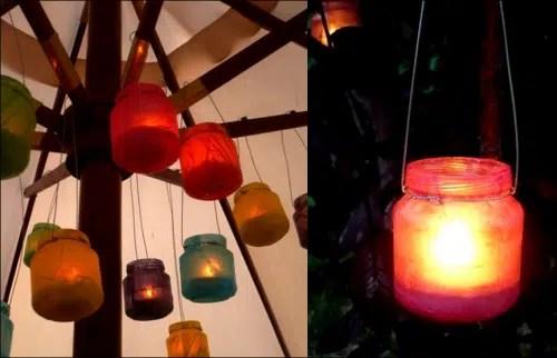 Crea tus propios candelabros y modifica el ambiente de tu hogar