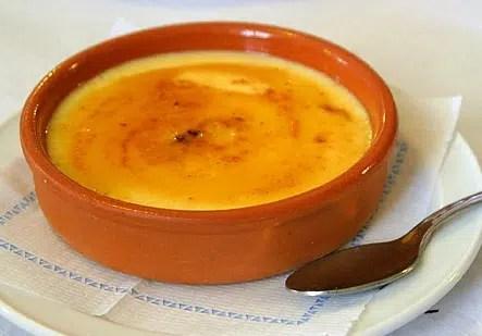 Crema Catalana. Sutil y cremosa