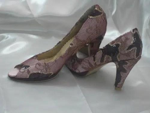 Decorar zapatos con tela