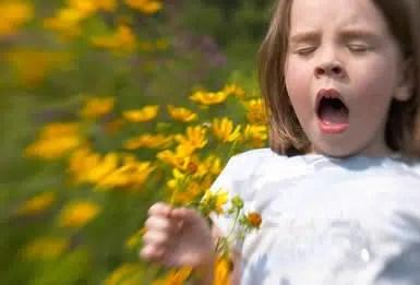 Enfermedades infantiles: las alergias