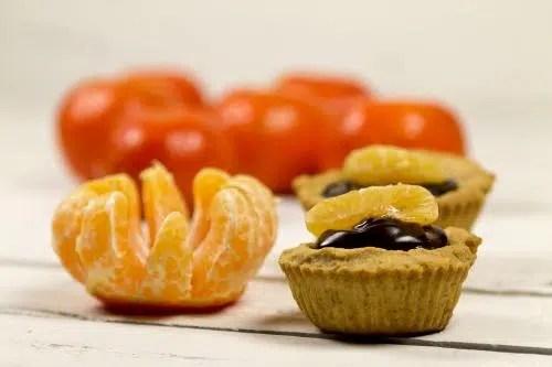 Ligeras y saludables: Tartaletas de Mandarina.