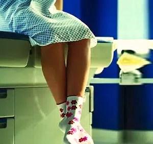 Mi primera vez ... pero, en el ginecólogo
