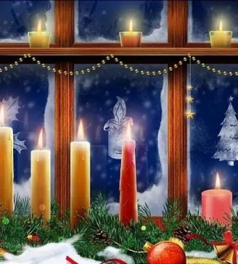 No olvides adornar las ventanas en Navidad