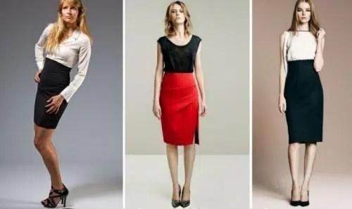 Nueva tendencia en faldas