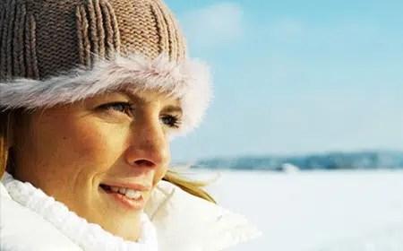 Protección de la piel en invierno