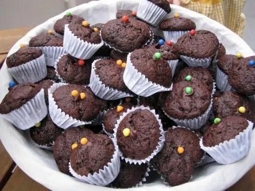 Recetas creativas: Magdalenitas de Chocolate