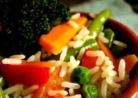Sacia tu apetito y cuida tu línea. Hoy: Arroz con Hortalizas