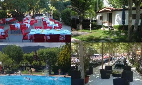 Un cómodo alojamiento con unas completas instalaciones: Camping El Escorial