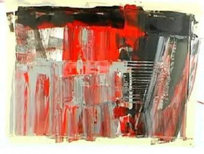 Un llamativo cuadro abstracto en nuestra pared