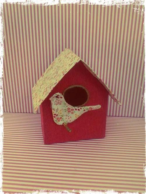 Una llamativa casa para los pájaros