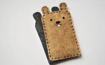 Una marmota como funda para nuestro móvil