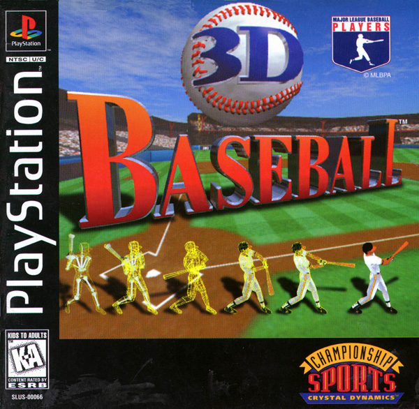 3D Baseball: PS1 Download games grátis