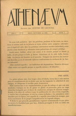 revista Athenaeum