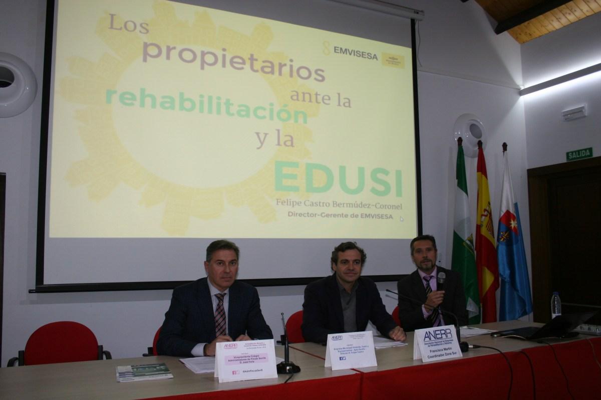 """El 4 de abril se celebra en Sevilla el """"Foro Nacional de Rehabilitación, Eficiencia y Sostenibilidad"""". La asistencia es gratuita previa inscripción."""