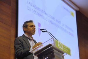 Felipe Castro, Gerente de Emvisesa, en el Encuentro Profesional organizado por ANERR.
