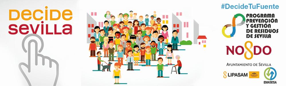 Sevilla tiene una nueva plataforma de participación ciudadana: Decide Sevilla.