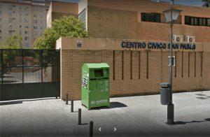 Centro Cívico San Pablo, sito en la calle Menippo s/n.
