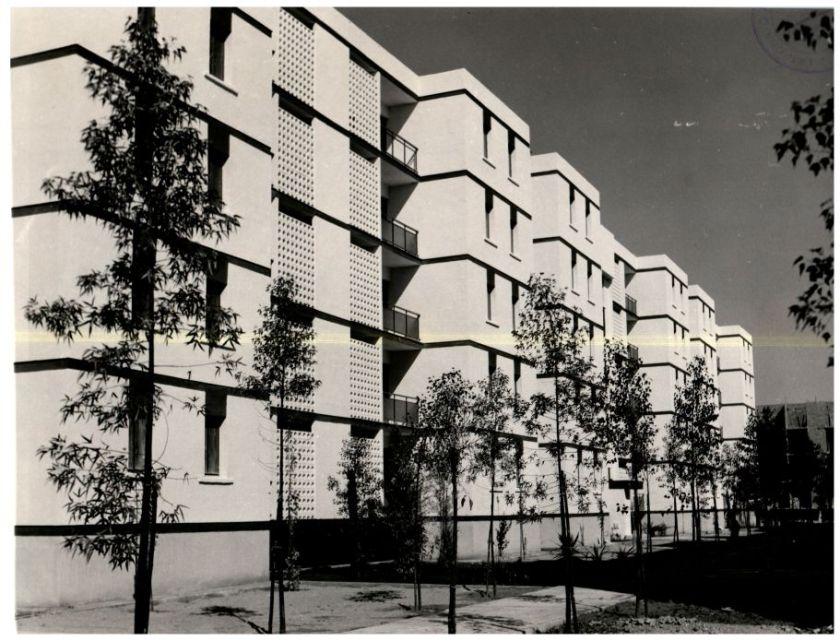 500 viviendas de renta limitada entregadas en 1972 en Pino Montano.