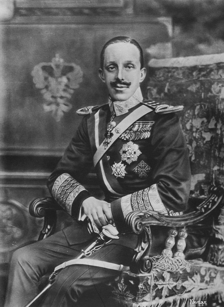 Alfonso XIII.