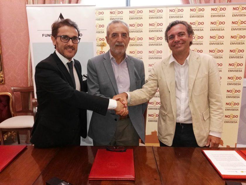 Convenio entre Emvisesa y la Fundación Adecco.