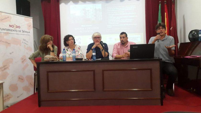 Carmen Nieto, Irene Acero, Luis Pizarro, Juan Manuel Pacheco y David Navas.