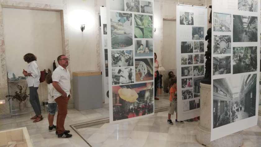 La exposición antológica de Rompemoldes en el centro cívico las Sirenas de La Alameda de Hércules permanecerá abierto hasta el 18 de octubre.