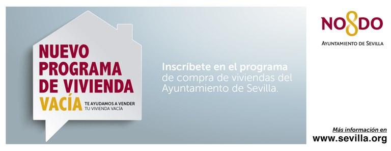 El Ayuntamiento de Sevilla aprueba una nueva convocatoria pública para la compra de viviendas unifamiliares vacías, con el objetivo de destinarlas a uso social