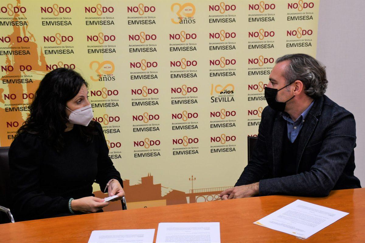El Ayuntamiento de Sevilla y Emvisesa colaboran con la asociación Acercando Realidades en el desarrollo de programas sociales para jóvenes en riesgo de exclusión