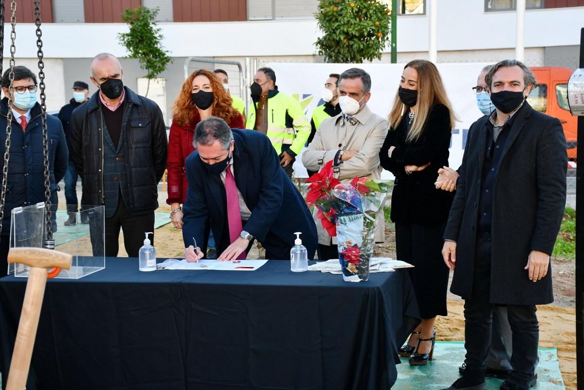 Emvisesa inicia la construcción de 83 viviendas protegidas en el Distrito Macarena con una inversión de 8 millones de euros