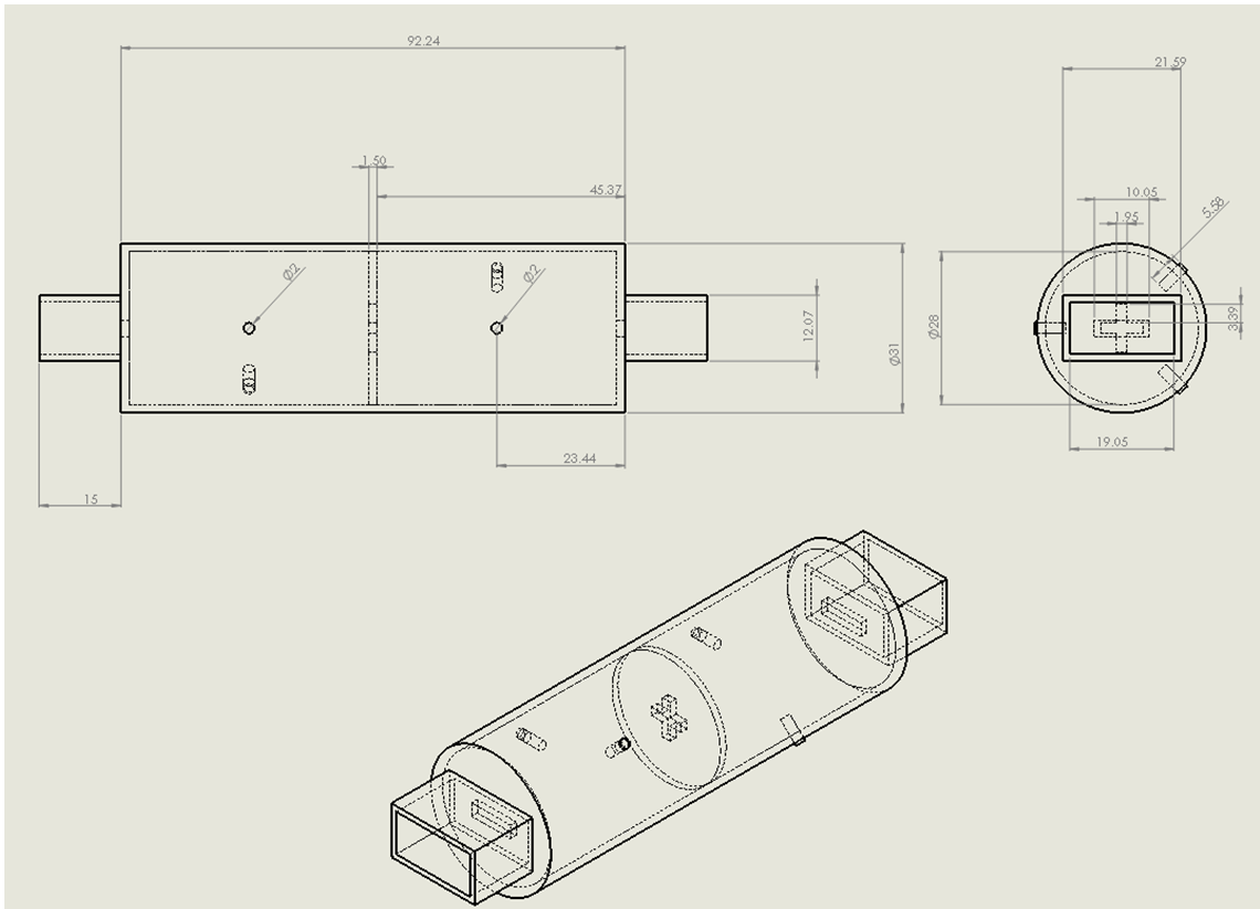 Dual Mode Circular Waveguide Filter