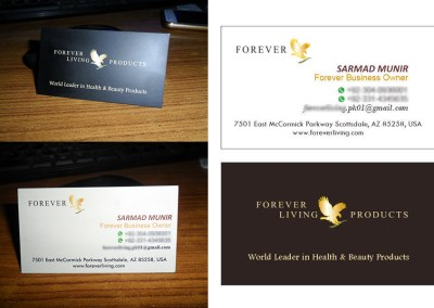 Emyoo Solutions Graphics and Print Projects Completed in May 2019-(Executive Business Card)
