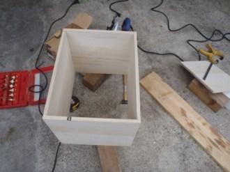 足浴器の製作