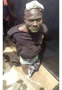 Man caught. Www.emzat.com.ng