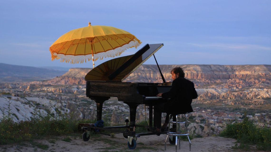 Insolite : Marc Vella et son piano nomade