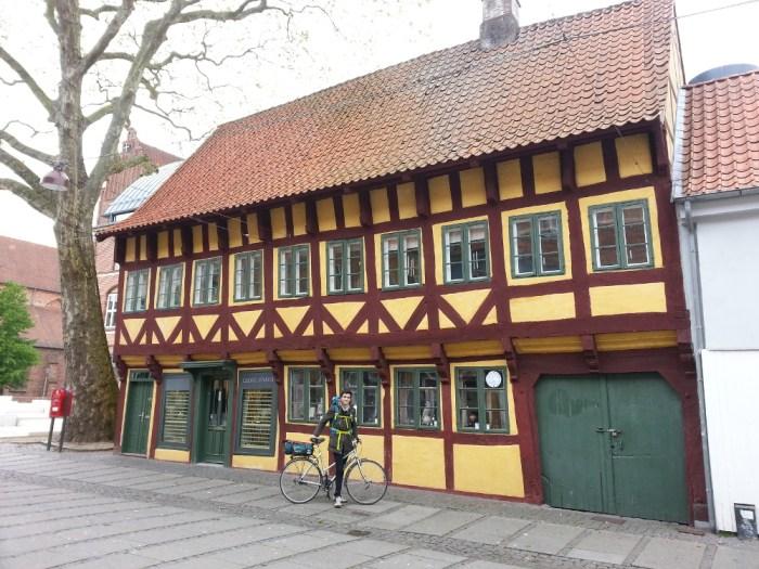 Maison à colombages, à Køge