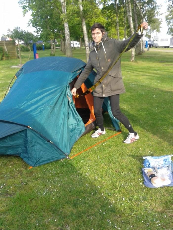 Quechua Forclaz 3 couverture de survie pour isoler la tente