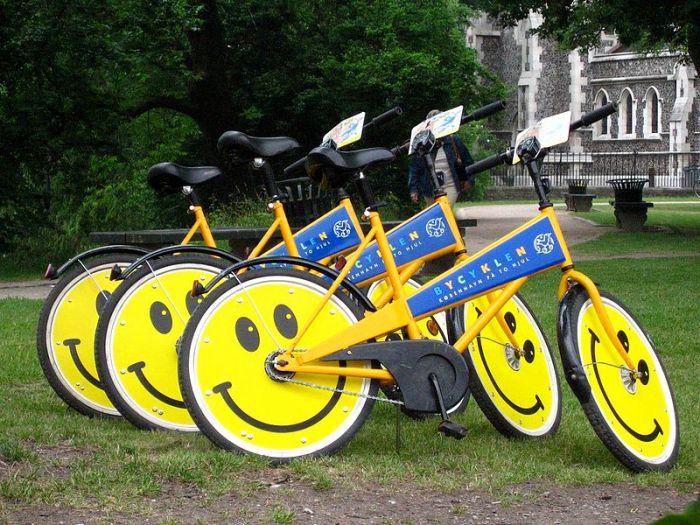Vélos publics à Copenhague