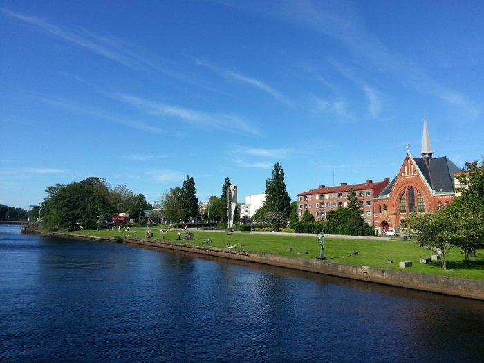 centre-ville de Halmstad