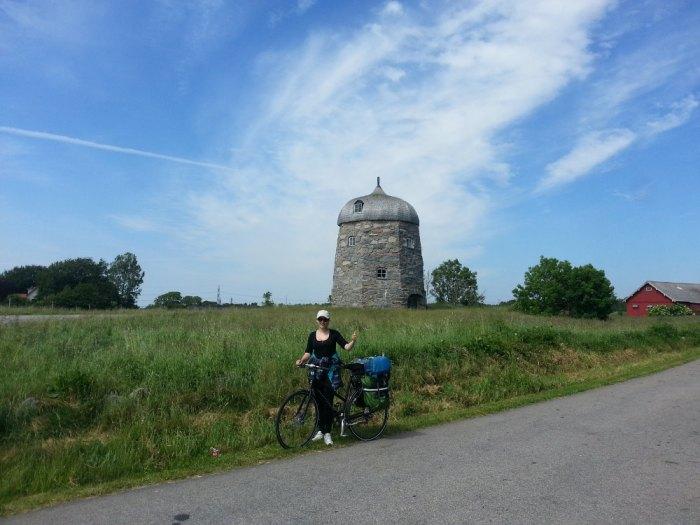 Curiosité sur la route entre Varberg et Kungsbacka