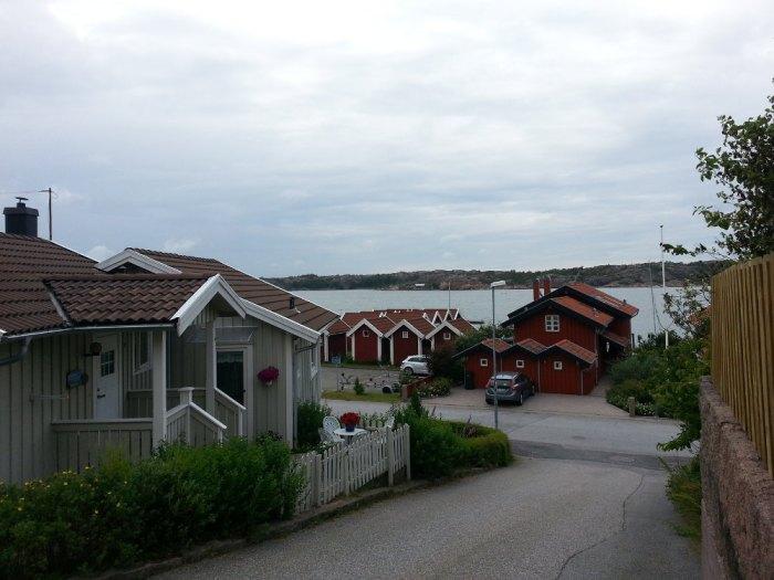 Le village de Bovallstrand