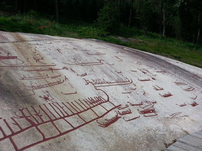 Les gravures rupestres de Tanum