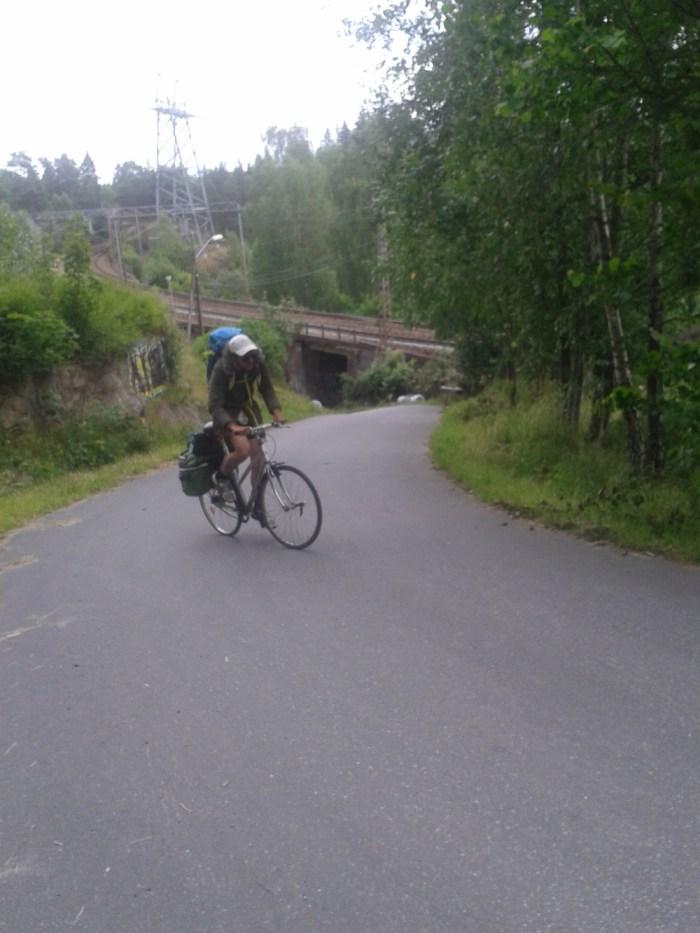 Relief Norvège vélo Oslo