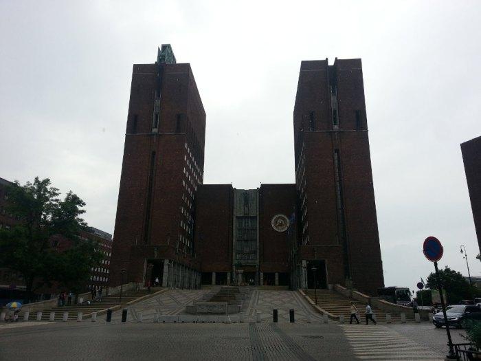 L'hôtel de ville d'Oslo