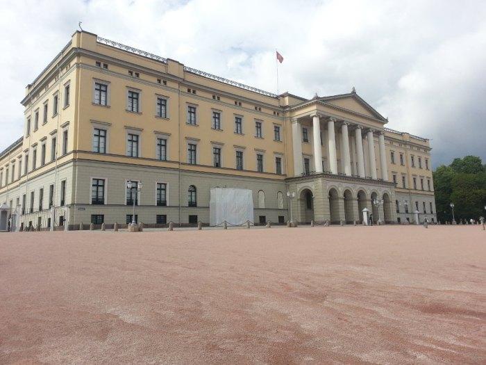 Le palais royal d'Oslo