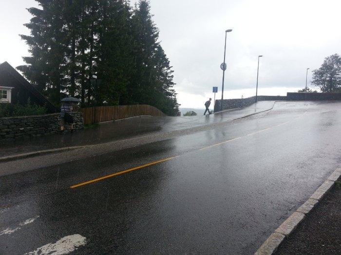 Pluie Oslo juillet